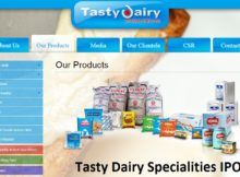 Tasty Dairy Specialities IPO-latest upcoming ipo & issue price in Indian stock market 2018