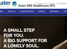 Aster DM Healthcare IPO -latest upcoming ipo & issue price in Indian stock market 2018