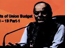 Highlights of Union Budget 2018 – 19 Part-1