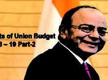 Highlights of Union Budget 2018 – 19 Part-2